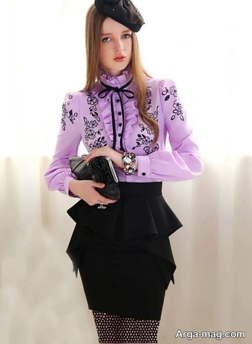 مدل بلوز دخترانه مجلسی