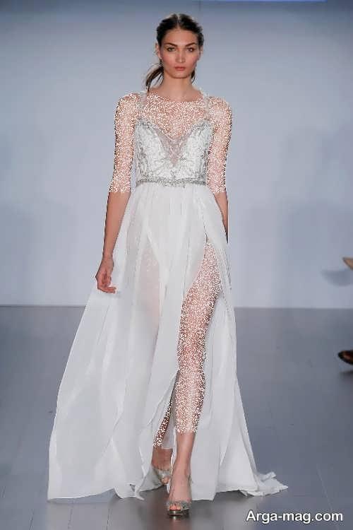 مدل لباس عروس جدید و بلند