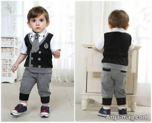 Model baby clothes set 13 - ست لباس های بچه گانه برای دختر بچه ها و پسربچه های خوش پوش