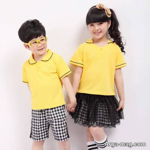 Model baby clothes set 2 - ست لباس های بچه گانه برای دختر بچه ها و پسربچه های خوش پوش