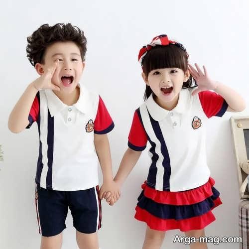 Model baby clothes set 26 - ست لباس های بچه گانه برای دختر بچه ها و پسربچه های خوش پوش