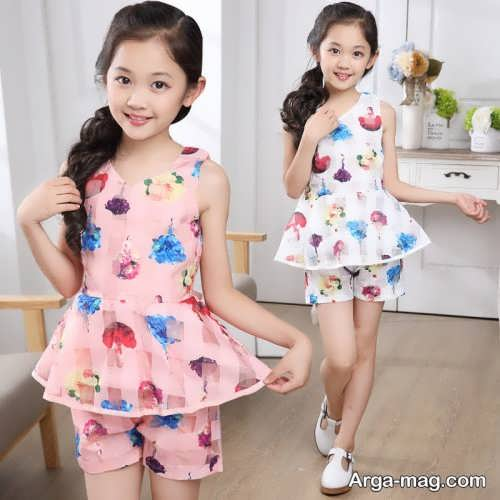 Model baby clothes set 27 - ست لباس های بچه گانه برای دختر بچه ها و پسربچه های خوش پوش