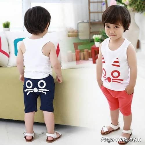 Model baby clothes set 28 - ست لباس های بچه گانه برای دختر بچه ها و پسربچه های خوش پوش