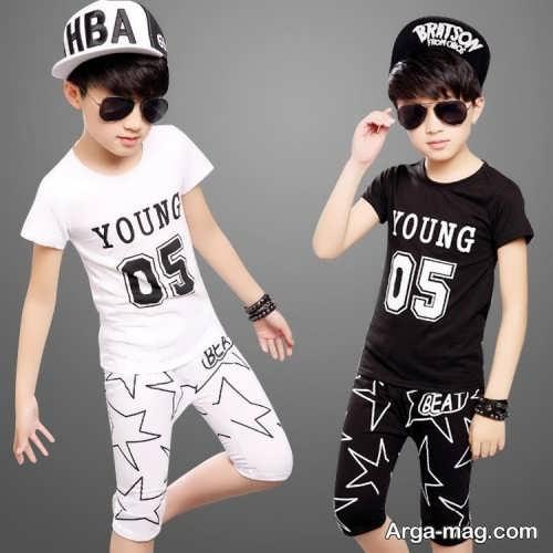 Model baby clothes set 33 - ست لباس های بچه گانه برای دختر بچه ها و پسربچه های خوش پوش
