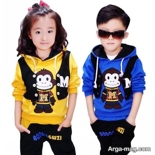 Model baby clothes set 39 - ست لباس های بچه گانه برای دختر بچه ها و پسربچه های خوش پوش