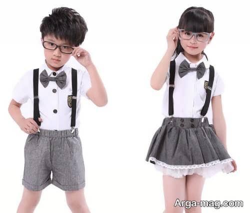 Model baby clothes set 7 - ست لباس های بچه گانه برای دختر بچه ها و پسربچه های خوش پوش