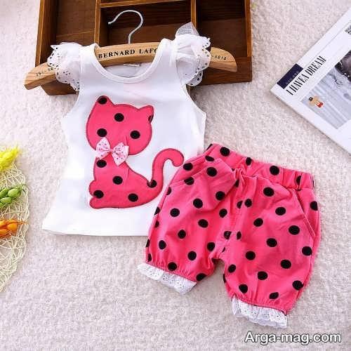 Model baby clothes set 8 - ست لباس های بچه گانه برای دختر بچه ها و پسربچه های خوش پوش