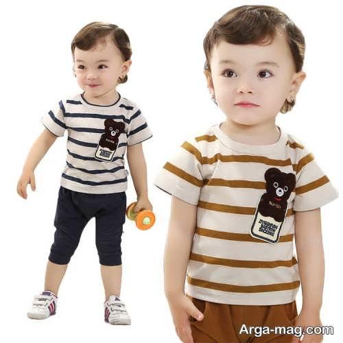 Model baby clothes set 9 - ست لباس های بچه گانه برای دختر بچه ها و پسربچه های خوش پوش