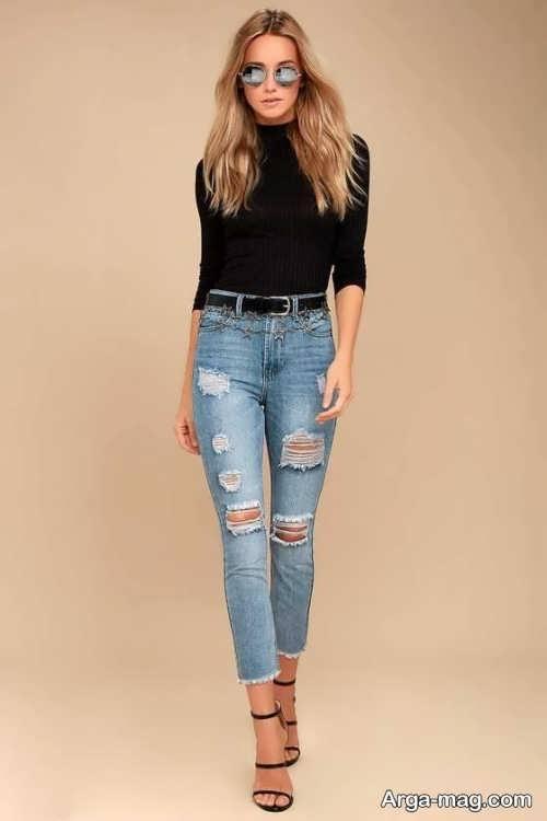 Model jeans 15 - مدل شلوار جین زنانه و دخترانه با طرح های مد سال