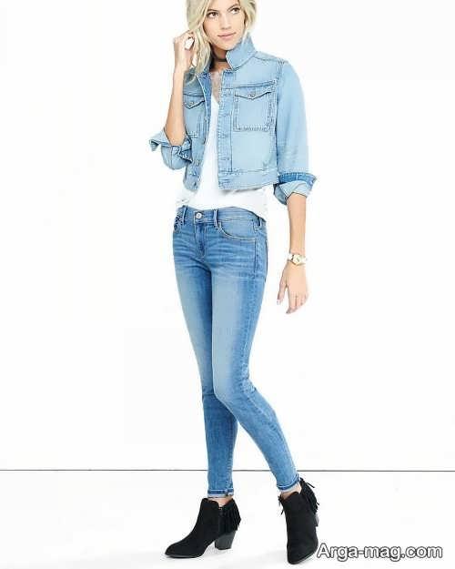 مدل شلوار جین آبی