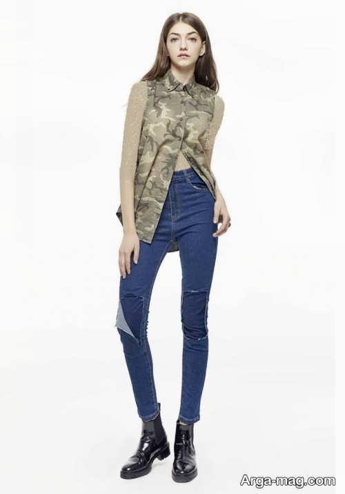 Model jeans 20 - مدل شلوار جین زنانه و دخترانه با طرح های مد سال