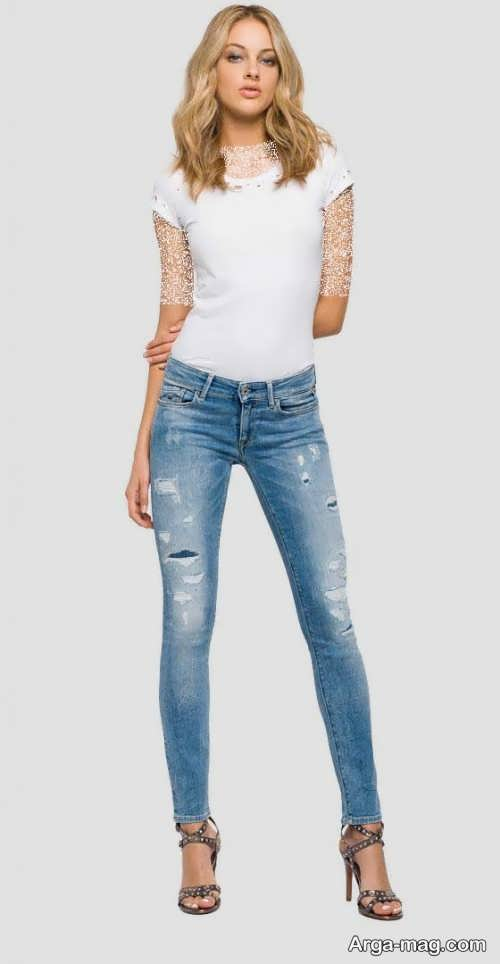Model jeans 28 - مدل شلوار جین زنانه و دخترانه با طرح های مد سال