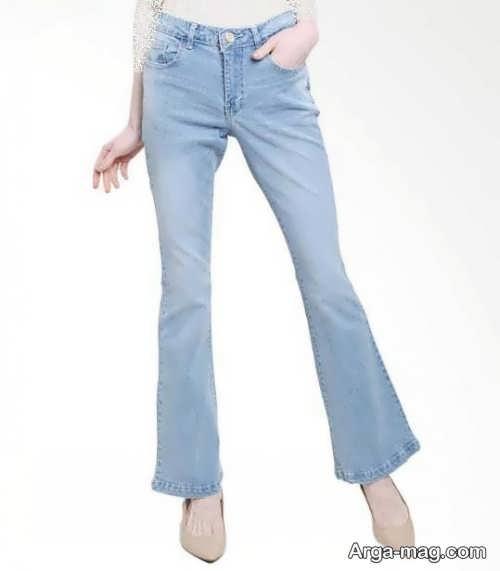 مدل شلوار زنانه جین