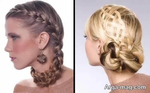 New closed hair 13 - ۴۰ مدل موی بسته جدید و جذاب برای مهمانی ها