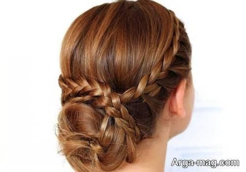 مدل موی بسته به همراه بافت مو