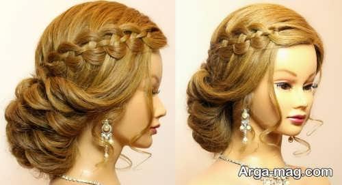 New closed hair 34 - ۴۰ مدل موی بسته جدید و جذاب برای مهمانی ها