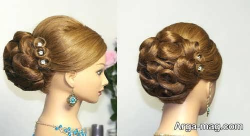 New closed hair 7 - ۴۰ مدل موی بسته جدید و جذاب برای مهمانی ها