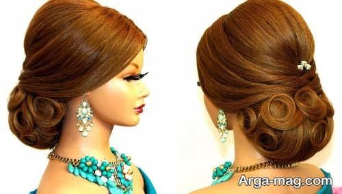 New closed hair 9 - ۴۰ مدل موی بسته جدید و جذاب برای مهمانی ها