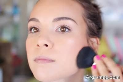 آرایش صورت مناسب و زیبا برای پوست چرب