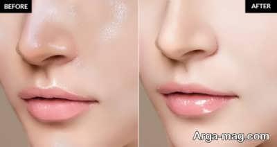 آرایش صورت برای پوست چرب
