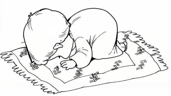 نقاشی خواندن نماز