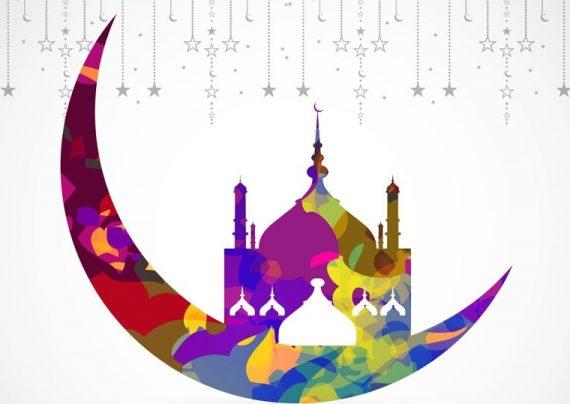 نقاشی ماه رمضان