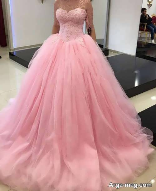 [تصویر:  Pink-Wedding-Dress-12.jpg]