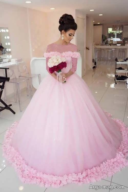 [تصویر:  Pink-Wedding-Dress-16.jpg]