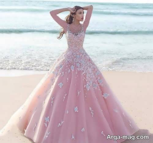 [تصویر:  Pink-Wedding-Dress-17.jpg]