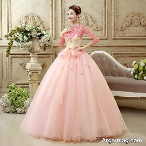 [تصویر:  Pink-Wedding-Dress-7.jpg]
