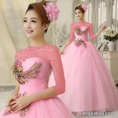 [تصویر:  Pink-Wedding-Dress-8.jpg]