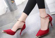 مدل کفش پاشنه بلند نوک تیز