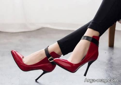 مدل کفش نوک تیز