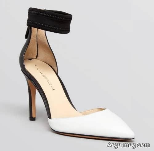 مدل کفش نوک تیز و سفید