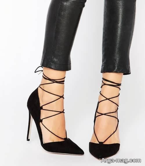 مدل کفش پاشنه بلند نوک تیز و جدید