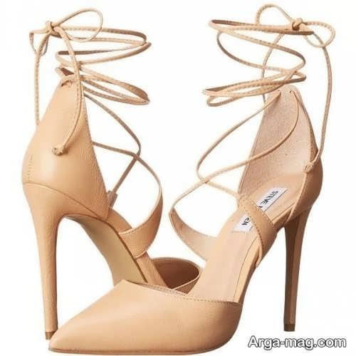 مدل کفش پاشنه بلند نوک تیز دخترانه