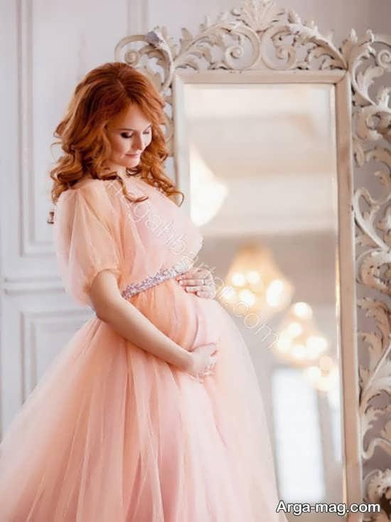 فیگور عکس جذاب بارداری با همسر