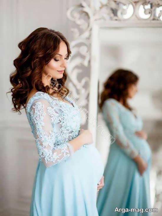 فیگور عکس زیبای بارداری با همسر