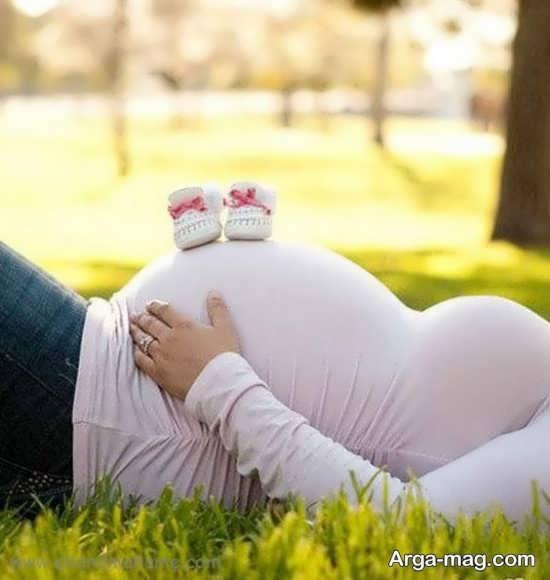تصاویر فیگور بارداری با همسر