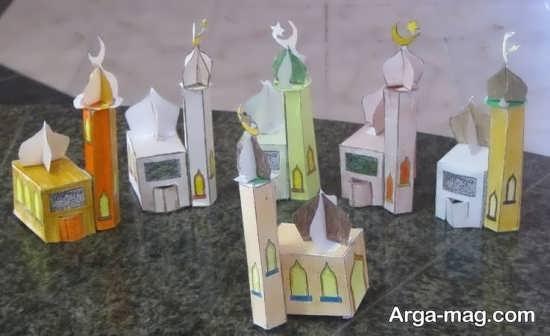 کاردست ساز کودکانه جدید ماه رمضان