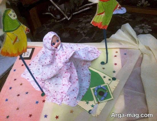 کاردست ساز کودکانه منحصر به فرد ماه رمضان