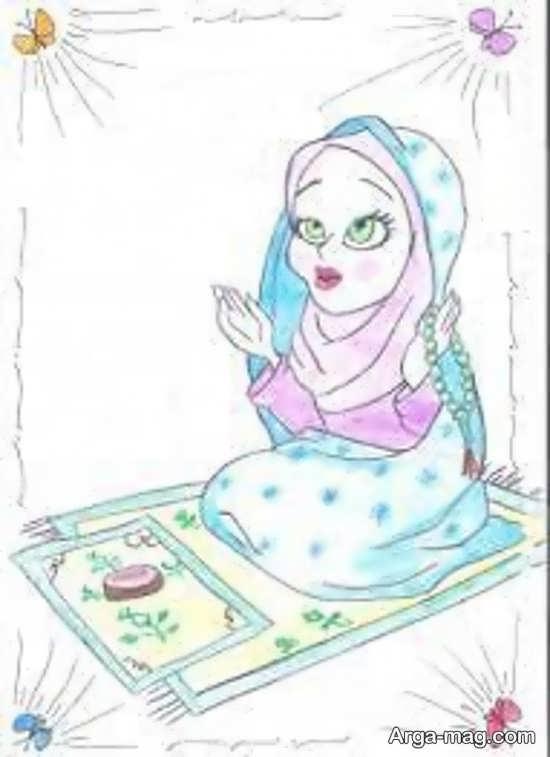 بهترین نقاشی ماه رمضان