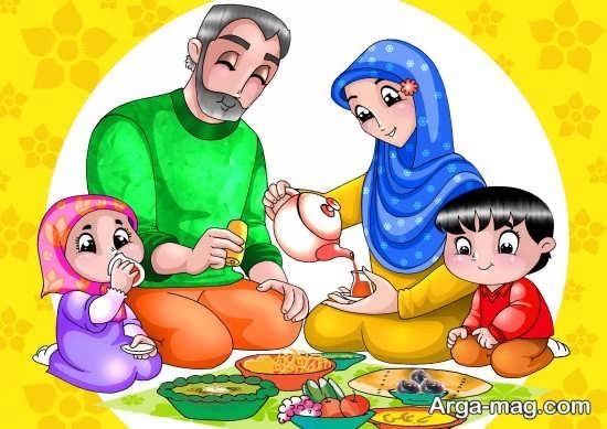 نقاشیهای قشنگ ماه رمضان