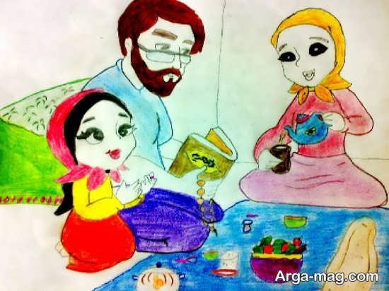 نقاشیهای جدید ماه رمضان