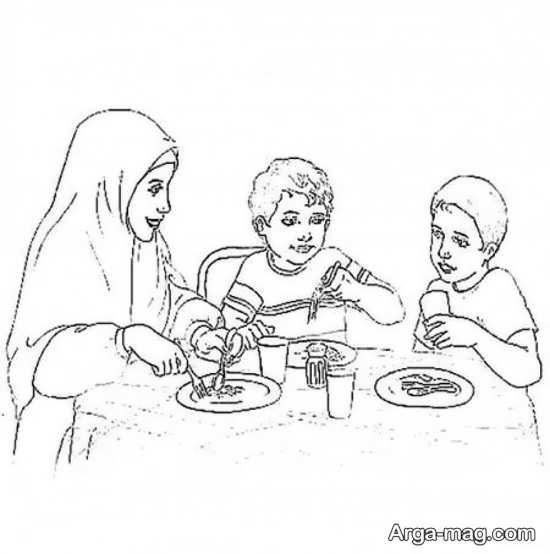 نقاشیهای بی نظیر ماه رمضان