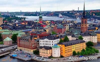 کشور زیبای سوئد