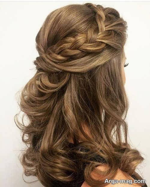 مدل مو نیمه باز با جدیدترین متدها