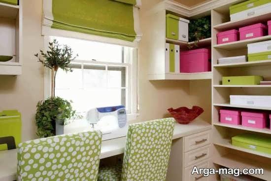 طراحی مدرن اتاق خیاطی