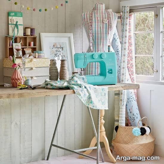 طراحی ایده آل اتاق خیاطی