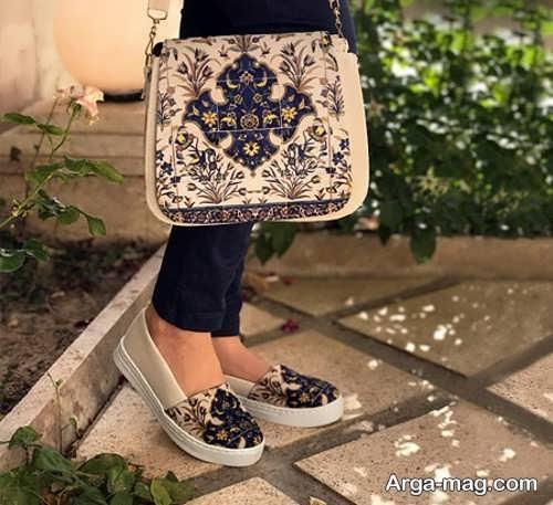 مدل کیف و کفش ست و طرح دار دخترانه
